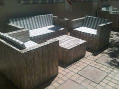 "CreativeWood Creations PALLET FURNITURE We provide a remarkable level of qualityhandmade products made from hand-selected, raw pallet wood. Visit our websitewww.ccreations.co.za  or facebook page""ccreations"" for more info!"