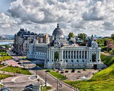 Россия. казань, город, архитектура, красиво