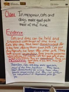 updated claim evidence and reasoning definitions from science  claim evidence reasoning lesson