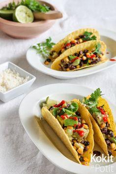 Mustapapu-avokado-maissisalsalla täytettyihin tacoihin voisi lyödä approved -leiman tai pari. Ruoka on nimittäin todettu erinomaiseksi ...