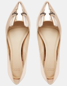 Image 3 ofASOS LITTLE MUNCHKIN Ballet Flats