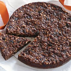 "A prized Christmas sweet from Tuscany, panforte means ""strong bread"" — but it's more like an almost-flourless fruitcake."