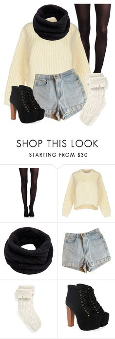 """""""Untitled #1447"""" by kitty-paws04 ❤ liked on Polyvore featuring SPANX, Acne Studios, Helmut Lang, American Apparel, UGG and Jeffrey Campbell"""