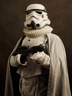 Star Wars: Stormtrooper Flemish by Sacha Goldberger