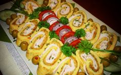 Érdekel a receptje? Ital Food, Quiche Muffins, Paleo, Cold Dishes, Buffet, Hungarian Recipes, Hungarian Food, Caprese Salad, Finger Foods