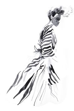 Fashion illustration // Cecilia Carlstedt