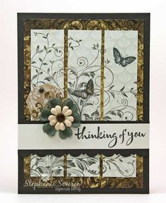 """{Au} Natural Sympathy, via Flickr......love this """"leafy vines"""" from hero arts - on my list :)"""