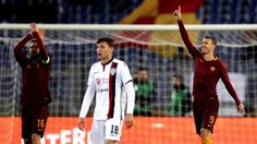 WinNetNews.com - Dalam lanjutan Serie A AS Roma berhasil mengalahkan Cagliari lewat gol tunggal Edin Dzeko. Kemenangan ini mengembalikan Roma ke peringkat dua klasemen sementara, setelah sebelumnya sempat disalip Napoli. Bertanding di Stadion Olimpico, Senin (23/1/2017) dinihari WIB, Roma tampil dominan
