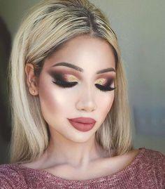 Fabulous!  @makeupbyalinna | #makeup