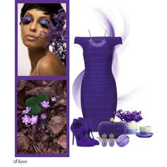 """""""Purples"""" by diane-shelton on Polyvore"""