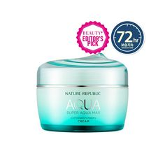 [NATURE REPUBLIC] SUPER AQUA MAX COMBINATION WATERY CREAM  The Super Aqua Max Combination Watery Cream protects the skin from the external environment by forming a moisture film over the skin.