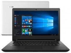 "Notebook Lenovo Ideapad 110 Intel Dual Core - 4GB 500GB LED 14"" Windows 10"