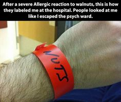 funny hospital bands