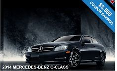 Gorgeous 2014 MERCEDES-BENZ C-CLASS   + Free coupons!!!  Best Deal Ever!!