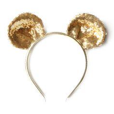 shopminikin - Woodstock London Mouse Ear Headband, Gold Sequins (http://www.shopminikin.com/woodstock-london-mouse-ear-headband-gold-sequins/)