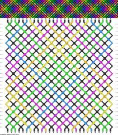 Friendship Bracelet Pattern Instructions | Knot instructions