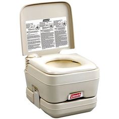 Camping Toilets at WalMart | Coleman Portable Flush Toilet: Camping : Walmart.com
