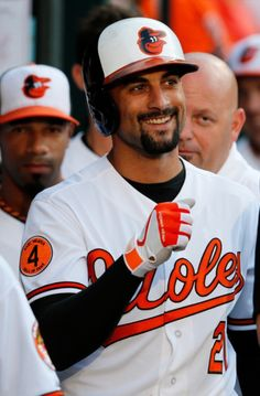 Nick Markakis, one of the best right fielders in the game. He is so humble, most fans aren't aware of his extraorinary talent.