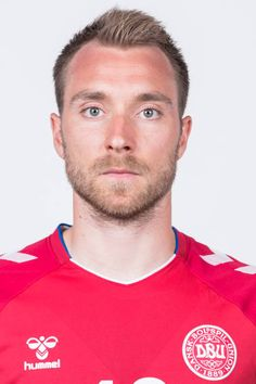 Christian Eriksen of Denmark poses during official FIFA World Cup 2018 portrait session on June 12 2018 in Anapa Russia Soccer World Cup 2018, Fifa World Cup 2018, Christian Eriksen, International Football, National Football Teams, Modern Haircuts, Poses, Stock Pictures, Polo Ralph Lauren