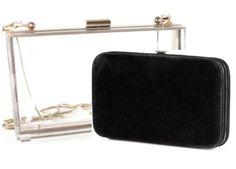 Bolsa Transparente Con Clutch Negro -   990.00 en MercadoLibre 5d1cb514fc3