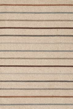 When you're looking for a clever way to make all of those different wood tones and warm vs cool tones work together ...    #DashAndAlbert Stone House Stripe Wool Woven Rug