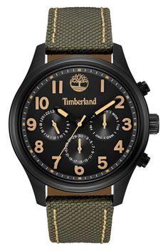 Image of Timberland Men's Rollins Nylon Watch