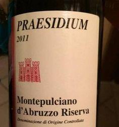 Praesidium Montepulciano d'Abruzzo 2011