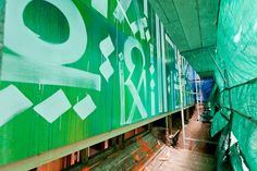 Street artists Risk and Retna paint house for Heal the Bay