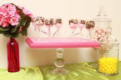 polka-dotted elephants: Dessert Stand