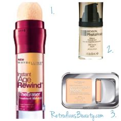 Three innovative drugstore foundations from Maybelline New York, LOreal Paris, and Revlon