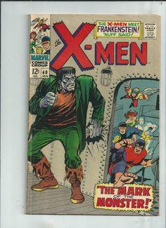 UNCANNY X-MEN #40 Fantastic Silver Age find from Marvel Comics! http://r.ebay.com/3h8Fy3
