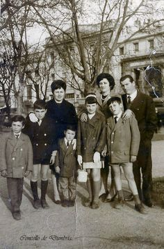 Familia nun parque. Cedida por Ezaro.com