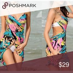 Just In❤ Sexy Summer Cover Up Look Your Best with this beautiful summer Cover Up ❤ OSFM (S-L) SoChic Swim Coverups