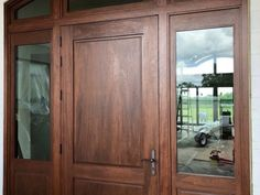 wp_130 Wooden Double Doors, Center Park, Delray Beach, Wood Doors, Solid Wood, Furniture, Home Decor, Wooden Doors, Decoration Home