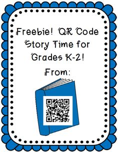 FREEBIE from The 2 Teaching Divas! In this pack you will find: six different links to websites that read stories to kids online (literally includes HUNDREDS of stories read aloud).  Students simply scan the QR Code and it takes them to the website...once there, they choose a text to read! Awesome resource!!!