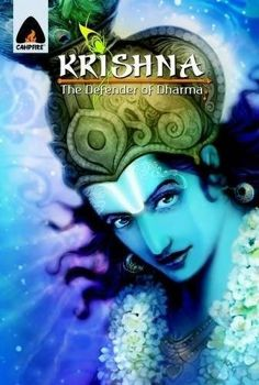 Krishna: Defender of Dharma: A Graphic Novel (Campfire Graphic Novels):   Evil Rakshasa Kalanemi is back on Earth, this time appearing as Kansa, the tyrant king of Mathura. To vanquish him and his horde of evil monsters, Lord Vishnu comes to Earth in his eighth avatar - Krishna, the defender of dharma. Since his birth, Krishna valiantly fights evil monsters, showing courage and valour. But as he grows up and becomes a councillor of the race of Yadavas, he observes that the real struggl...