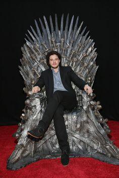 Kit Harington: ELLE man of the week. See all Game of Thrones star Kit Harrington's best pictures. Kit Harrington, Jon Snow, Winter Is Here, Winter Is Coming, Jon Schnee, Kit And Emilia, Beautiful Men, Beautiful People, Daenerys Targaryen