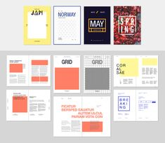 Free Editorial Layouts [InDesign] by Chandesh Tk, via Behance