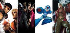 Hoje a Capcom comemora seu aniversário de 30 anos. Qual desses games da companhia japonesa você mais jogou? #Games #Capcom