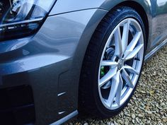 """Pretoria 19"""" wheels painted in Porsche Bright Silver with 10mm spacers all round"""