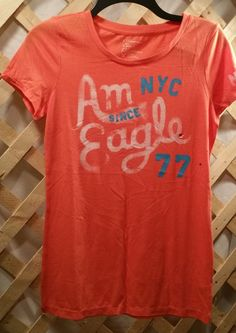 Orange American Eagle Outfitters T-Shirt