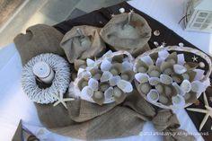 #wedding #starfish Sweet Memories, Burlap Wreath, Starfish, Sea Shells, Wedding Day, Pi Day Wedding, Seashells, Marriage Anniversary, Burlap Garland
