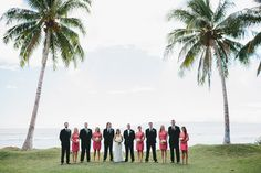 Photography: Braun Photography - braun-photography.com  Read More: http://www.stylemepretty.com/2014/06/20/romantic-outdoor-wedding-on-the-shores-of-maui/
