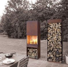 PLEASURE FROM YOUR ALL YEAR ROUND The Dual Purpose TOLE Garden Fire U0026  Barbeque Brings Your Loved Ones Together. The Innovative Design And Cooking  ...