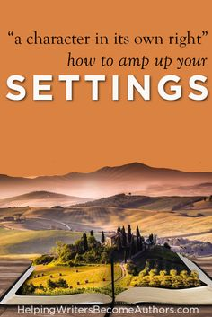 What does it mean to make your setting a character in its own right? Here are 3 main questions (and 12 mini questions) to get you started.