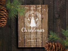 Flyer/Poster Christmas Party Retro by Vitali Raidziuk