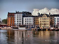 Helsinki city port.