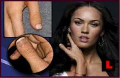 Megan Fox has different looking thumbs,,,,,,,,,,,,,,,,,Google Image Result for http://listverse.com/wp-content/uploads/2011/02/fox.jpg