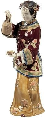 Lin Wei Dung Porcelain Statues - Asian - More Themes - Design Toscano