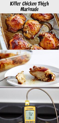 Killer Chicken Thigh Marinade - Recipe Of The Days, Chicken, Meat Recipe - #ovenbakedchickenthighs - Killer Chicken Thigh Marinade - Recipe Of The Days, Chicken, Meat Recipe...
